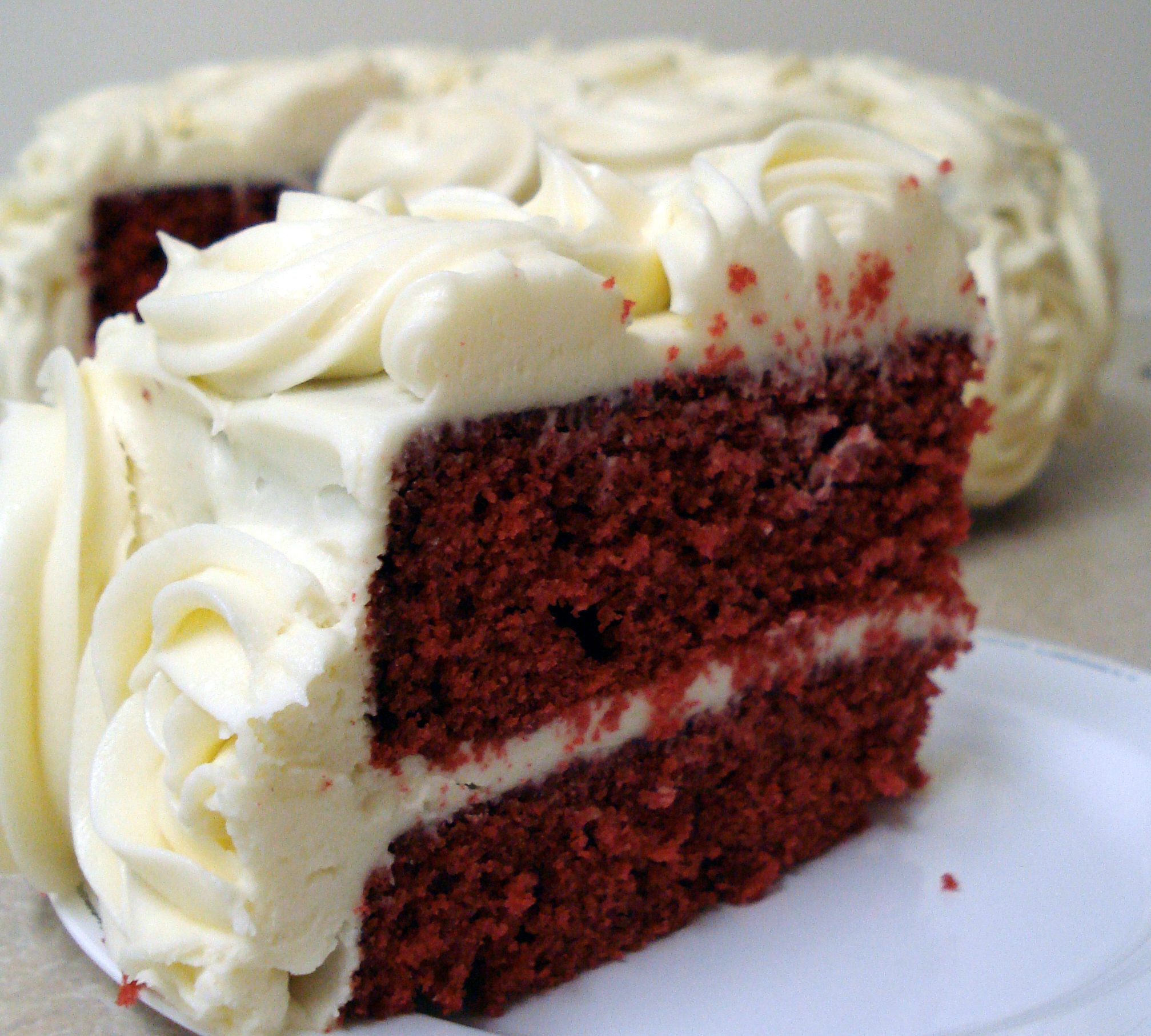 Cake Red Velvet Resepi : Red Velvet Cake The Big Bake Theory