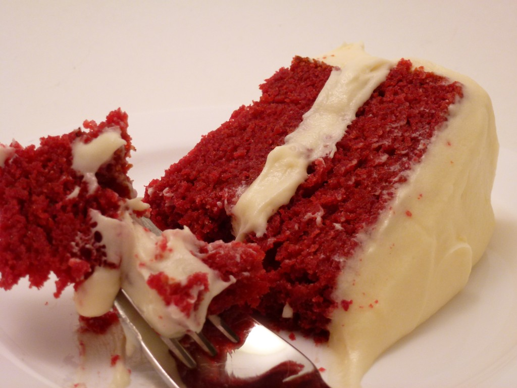 Red Colour Cake Images : Red Velvet Cake The Big Bake Theory