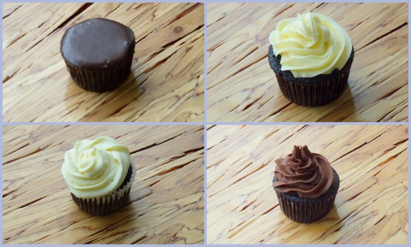 Espresso Cupcakes With Milk Chocolate Ganache And White Chocolate ...
